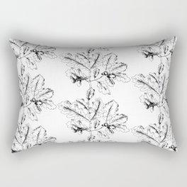 Oak pattern Rectangular Pillow