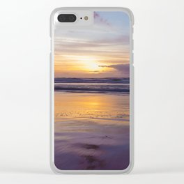Colorful Sunrise in Bahia Clear iPhone Case