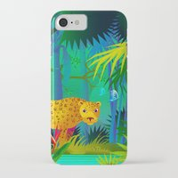 panther iPhone & iPod Cases featuring Panther by Nato Gomes