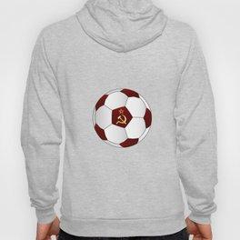 Russian Flag Icons Football Hoody