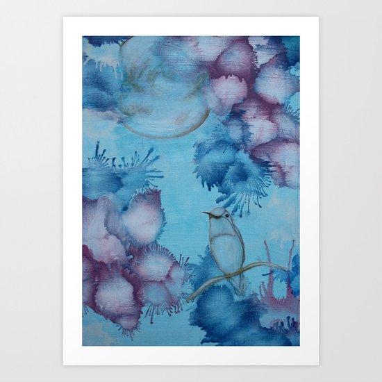 Moonlight I Art Print