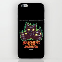 Basement Of The Damned iPhone Skin