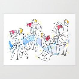 La La Land Art Print