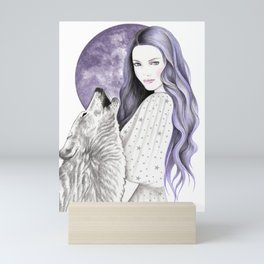 Night Sky Mini Art Print