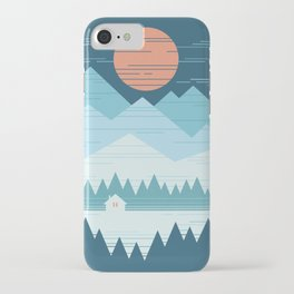Cabin In The Snow iPhone Case