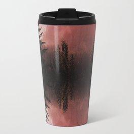 Sunset forest reflections Travel Mug