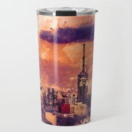 Sao Paulo - WaterColor 003A Travel Mug