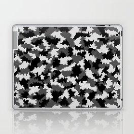 Camouflage Digital Black and White Laptop & iPad Skin