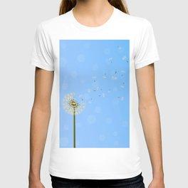 dandelion seed escape T-shirt