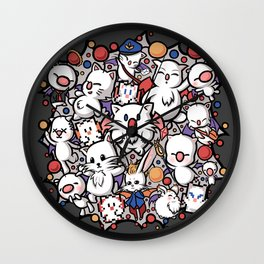 Pom Pom Party Wall Clock