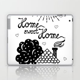 Home sweet Home Illustration Laptop & iPad Skin