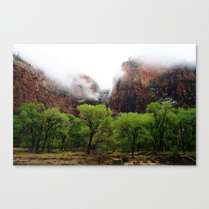 Mountain Layers Canvas Print