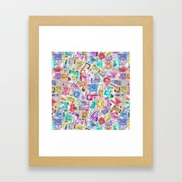 power tools Framed Art Print