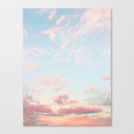 Cotton Candy Sky Canvas Print