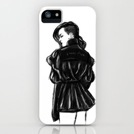 Grrrl iPhone Case
