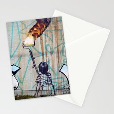 Rolling On Fire Stationery Cards