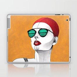 Stripe Swimmer Laptop & iPad Skin