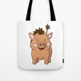 Wee Warthog Tote Bag