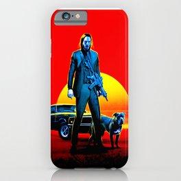 jhon wick iPhone Case