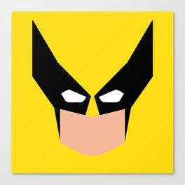 Wolverin e superhero Canvas Print
