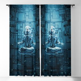 Astro Lotus Blackout Curtain