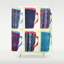 My Snugg Mug Shower Curtain