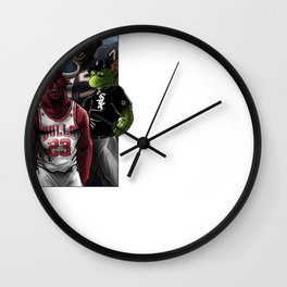 Chicago Sports Wall Clock