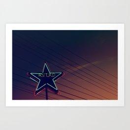 Astro 2 Art Print