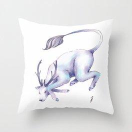 Eternal Deer Throw Pillow