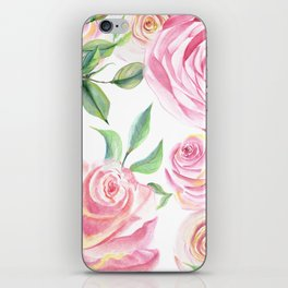 Roses Water Collage iPhone Skin