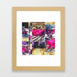 Pink Pain Framed Art Print