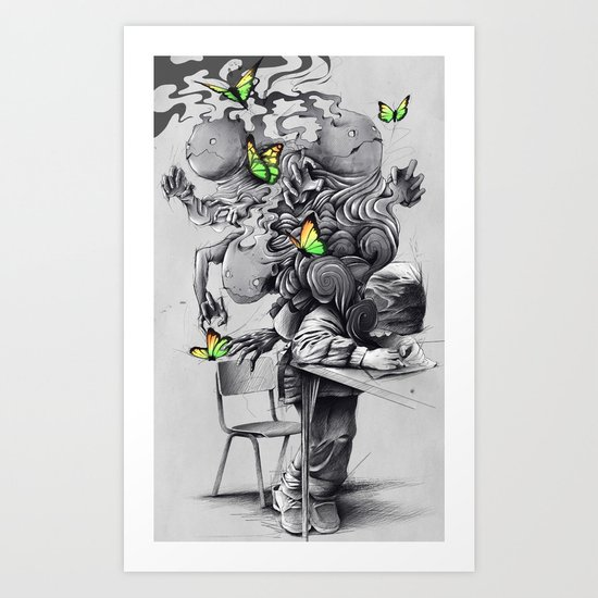 The Creator Art Print