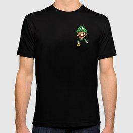 Pocket Luigi Super Mario T-Shirt T-shirt