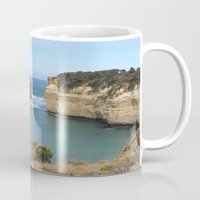 australia Mugs featuring Australia  by CathyBodine