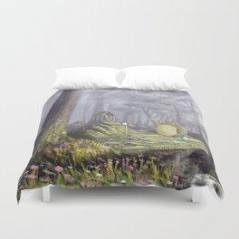 Totoro's Forest Duvet Cover