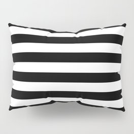 Abstract Black and White Stripe Lines 6 Pillow Sham