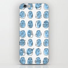 Pig family iPhone & iPod Skin