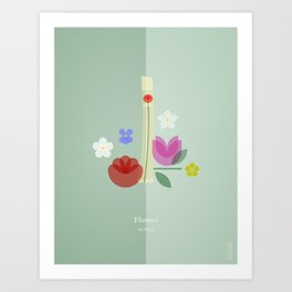 FRAGRANCES / Flower - KENZO Art Print