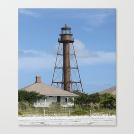 Sanibel Island Light Canvas Print