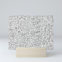 THE FUN WOLRD of KEITH HARRING Mini Art Print