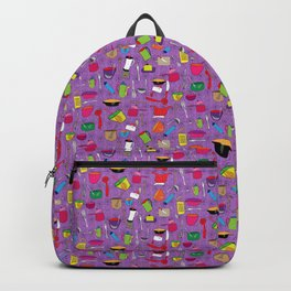 batuque na cozinha 15 (drumming in the kitchen) Backpack
