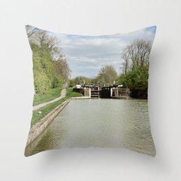 Stockton Locks  Throw Pillow