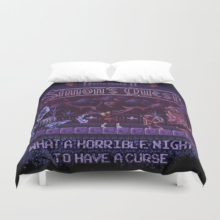 Simon's Vania Castle Quest Duvet Cover