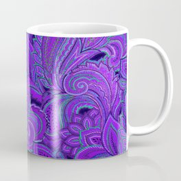 paisley paisley purple Coffee Mug