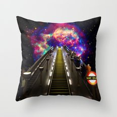Stairway to Nowhere and Everywhere | London Tube Series Throw Pillow