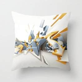 All directions Throw Pillow