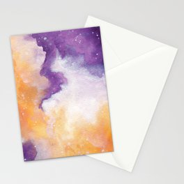 Spooky Galaxy Stationery Cards