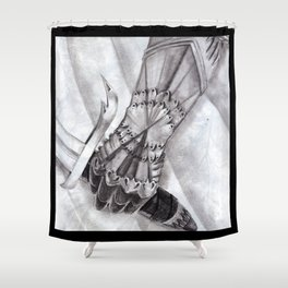 The Gauntlet Shower Curtain