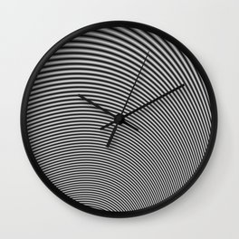 Fractal Op Art 2 Wall Clock