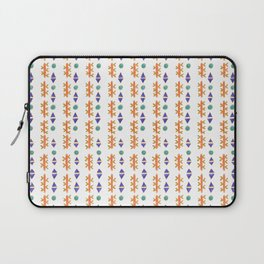 Circles, Arrows, and Cactuses Desert Pattern Laptop Sleeve